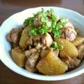 【簡単レシピ】鶏肉と大根のうま煮♪