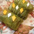 「白菜キムチとお豆腐の具だくさんロールキャベツ」。