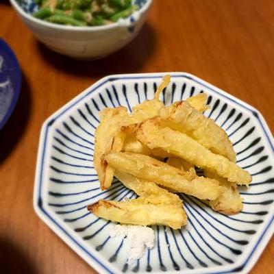 ☆ウドの天ぷら