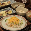 レシピ付き献立 鮭ずし・鯛の香味ソースかけ・じゃがいものそぼろあんかけ・なすの香味ソースかけ他