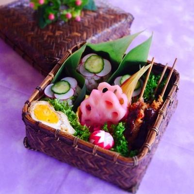 うちの豚串カツ&さつまいもハニーバターレシピ*木~金曜日の旦那くん弁当