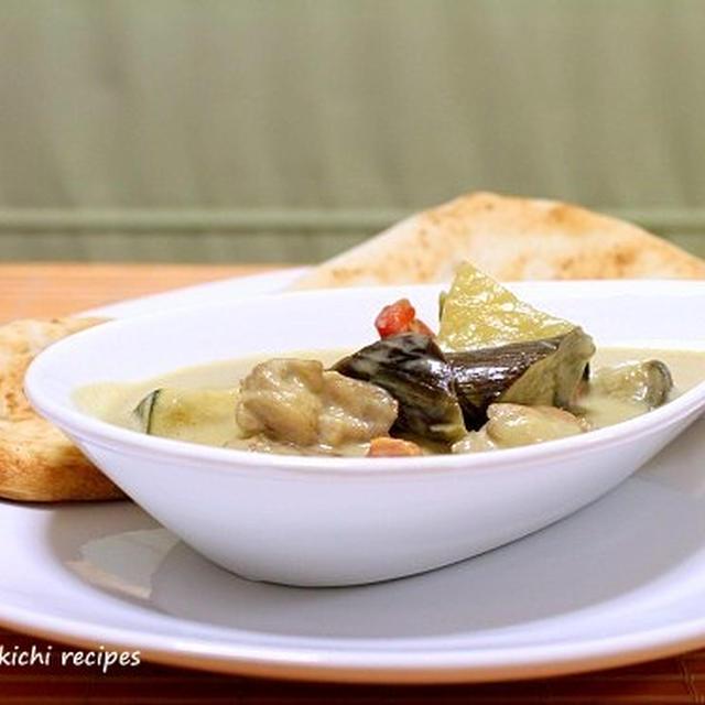 汗かいて食べましょう「タイ風グリーンカレー」&「りんくうプレミアムアウトレット」