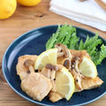 ごはんがススム!鶏むね肉としめじのレモンバター醤油ソテー by kaana57さん