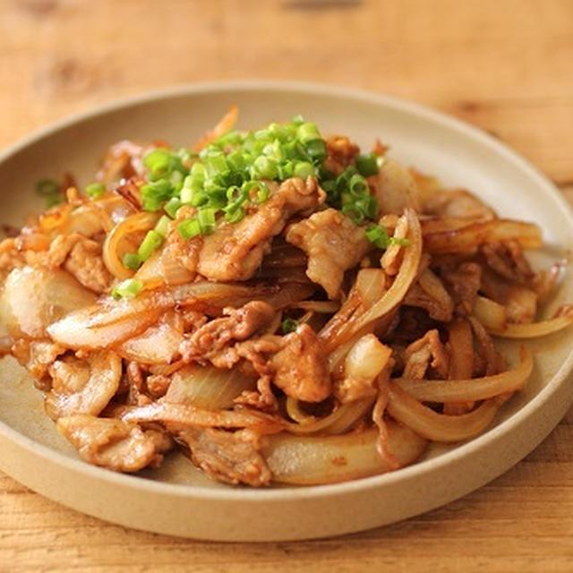 簡単♪豚肉と玉ねぎのスタミナ炒め