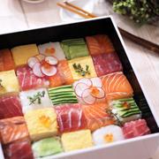 押し型がなくても作れる華やか「モザイク寿司」