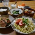 【鮭と長芋のマスタードレモン】#旬を食す#生鮭#さっぱり旨ダレ …試合2日前の晩ごはん