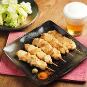 鶏むね肉の焼鳥、オーブントースターで美味しいレシピ