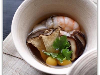 >干し椎茸ときのこの土瓶蒸し風 by asunaさん