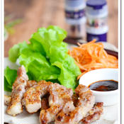 ガーリックポークの韓国風焼肉