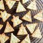 クリスマスのさんかくクッキーと、今日のレシピ