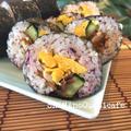 お母さんの夏休みの友!夏休みの簡単ランチ 梅とサバのさっぱり巻寿司