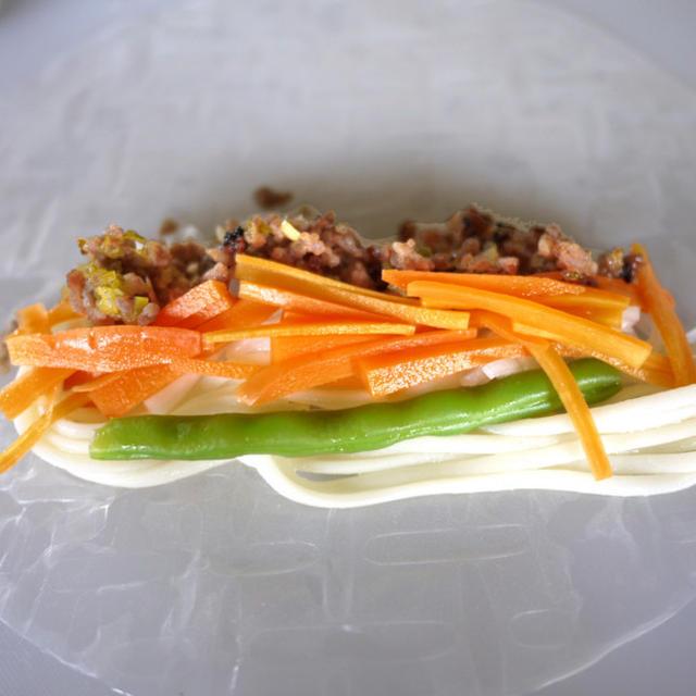 [副菜] 冷蔵庫整理の生春巻き