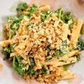 柿とクレソンとワサビ菜のサラダ【#美味しいレシピ #サラダは美味しい】 by くにこさん