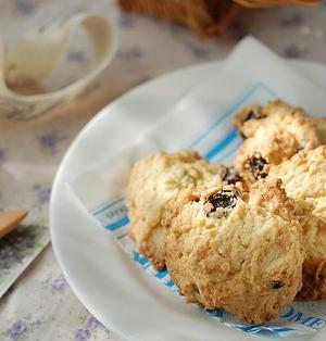 レーズンロッククッキー