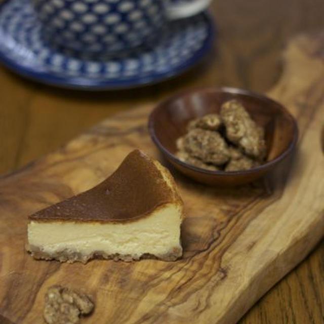 6月のお菓子教室・チーズケーキと黒糖くるみ
