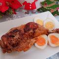 お酢でやわらか♡煮鶏【クリスマスチキン】