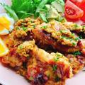 【魚焼きグリルでサテアヤム】ピーナッツ焼き鳥(動画レシピ)/Grilled chicken with peanut sauce.