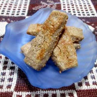 レンジでざっくり素朴な焼き上がり♪ グラハムスパイスクッキー