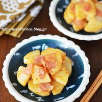 ササっとできる小さなおかず「長芋とベーコンの柚子胡椒炒め」←作り置き・お弁当のおかずにも◎