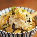 シーフードミックスときくらげの卵丼、電子レンジで卵丼レシピ