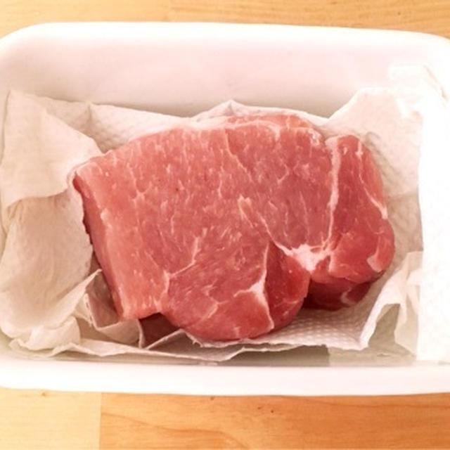 レシピ:あると便利な塩豚、さらに塩豚のレモンハーブ蒸し