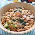 鮭と小松菜のオートミール雑炊【旨味たっぷりダイエットおじや】|レシピ・作り方
