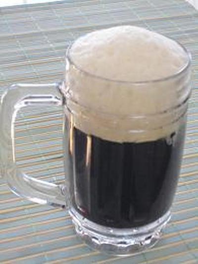 父の日スイーツは黒ビール風ゼリー