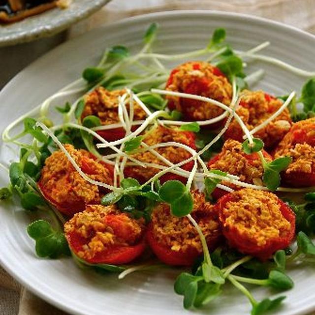 プチトマトのファルシ