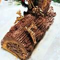 【レシピ】クリスマスに!【時短で!ブッシュドノエル】ワーママの工夫ケーキ!