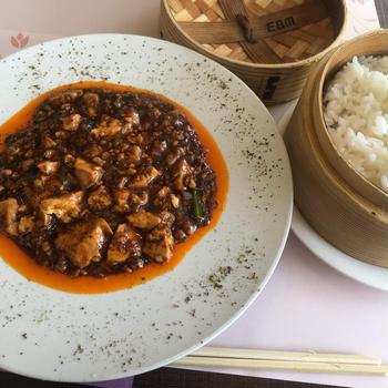 最近のランチは中華ばかり。