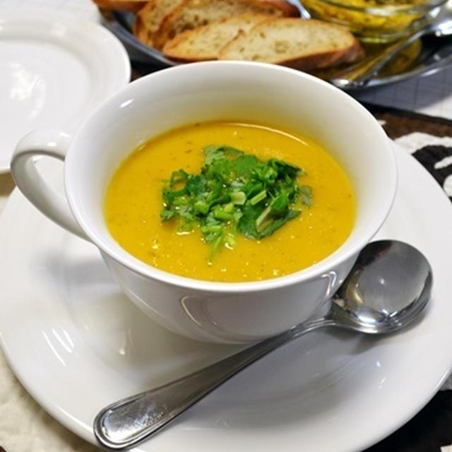 オレンジ&コリアンダーキャロットスープ