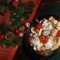 【レシピブログ】カマンベールチーズが主役!おうちパーティーのとっておきテーブル<2>♬