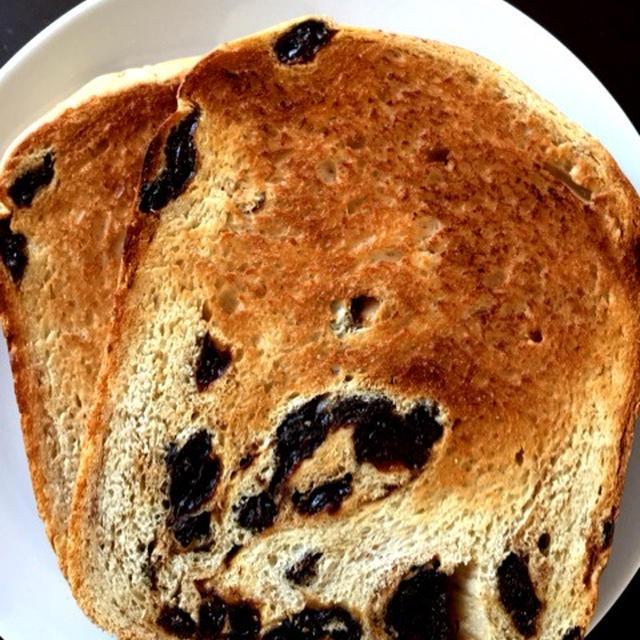 シナモン香るたっぷりレーズン食パン@ホームベーカリー