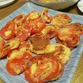 セミドライトマトのピカタ