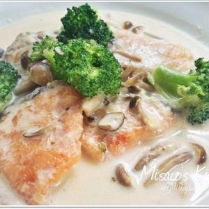 鮭のクリーム煮♪