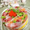 ひな祭り☆お寿司ケーキ