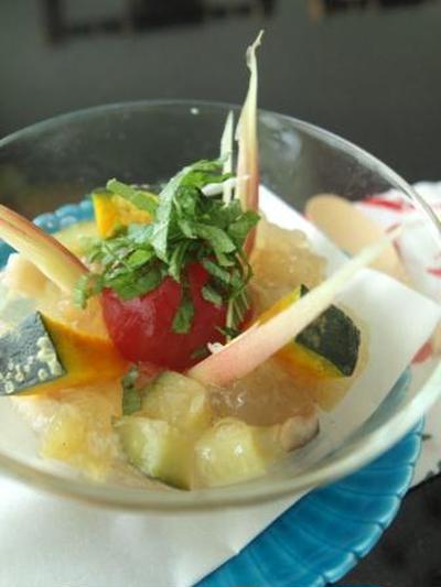 *七夕にも!夏野菜のゼリー寄せ*