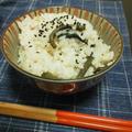 """塩麹で""""山菜ごはん"""""""