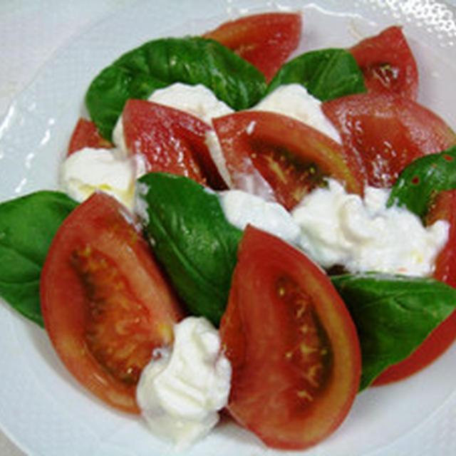 トマトのヨーグルトサラダ