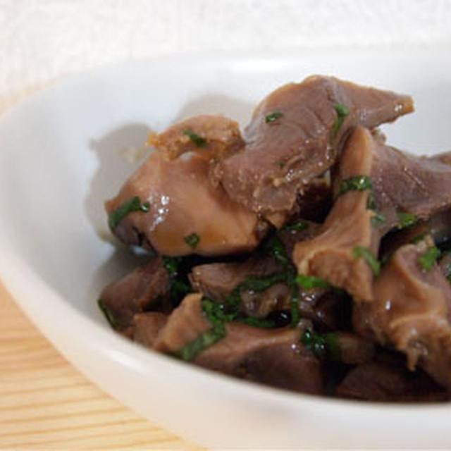 砂肝の副菜