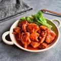 【解凍不要!簡単!下味冷凍作りおき】鶏肉の甘辛コチュジャン炒め