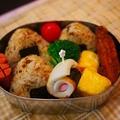 焼き鮭弁当&叙々苑のふりかけおにぎり弁当