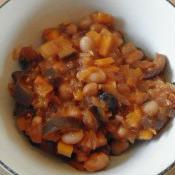 大豆と小豆のチリコンカン