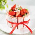 【オーブン不要で簡単!】いちごのシャルロットケーキ