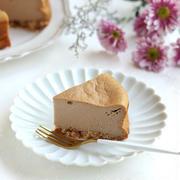 粉末のミルクティーで!豆腐のミルクティーチーズケーキ