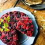♡簡単なのに華やか♡冷凍ベリーと紅茶のアップサイドダウンケーキ♡【#お菓子#クリスマス】