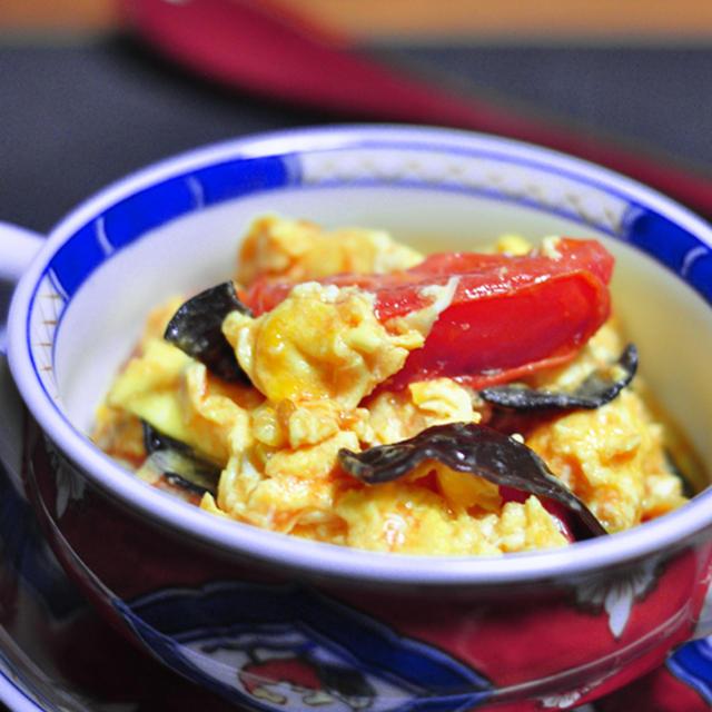 【授かるベーシックレシピ】トマトと卵の中華炒め