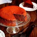ラムレーズンとクルミの濃厚ガトーショコラ(小麦粉なし)