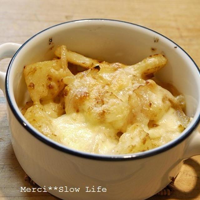 醤油麹マヨポテトチーズオーブン焼き♪ めかぶ&納豆で美味しい入麺