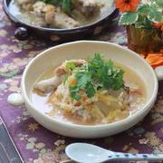 【レシピ】白菜漬けと手羽元の参鶏湯。と 日曜日のお散歩。